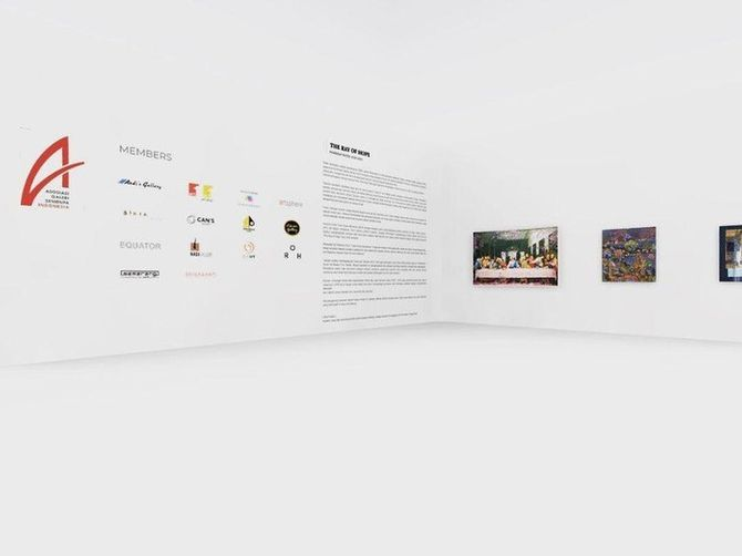 Ray of Hope, Pameran Seni Virtual di Penghujung 2020